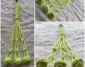 Glow In The Dark Tri-Dent Rope Mace