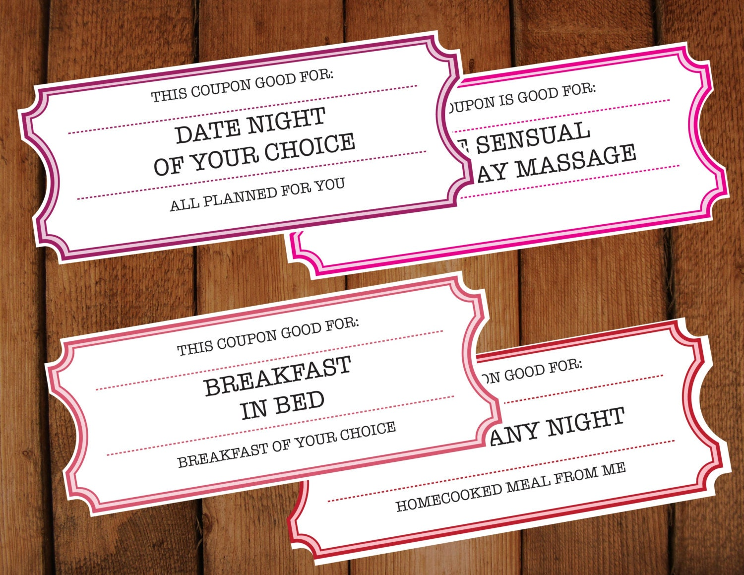 diy love coupons valentine printable tickets diy editable printable vouchers mothers day valentines day