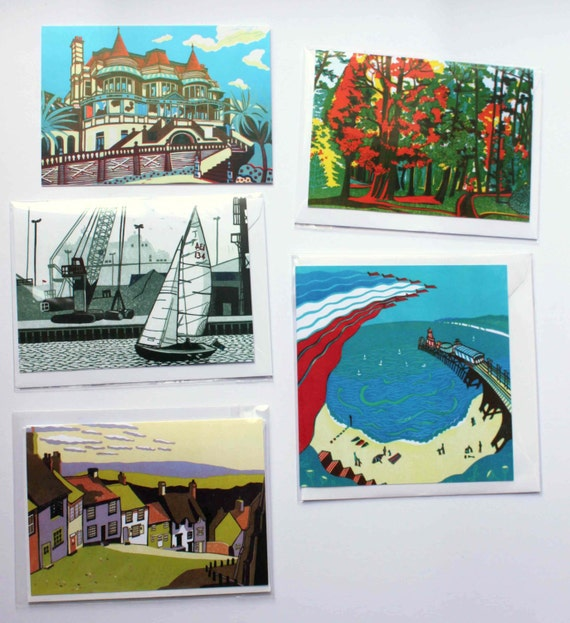 10 Greetings cards - pick your own