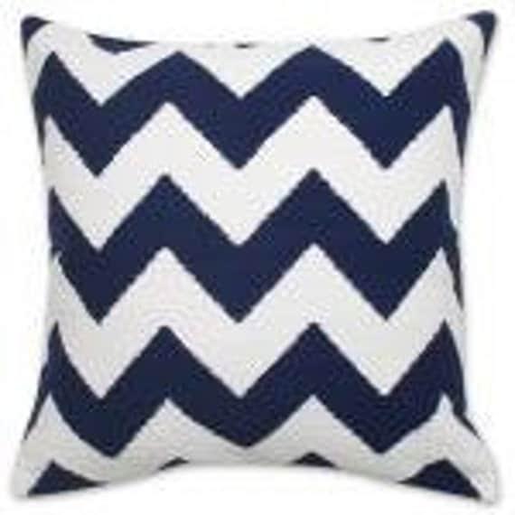 One 20 x 20 Custom Designer  Lumbar Pillow Cover  - Jonathan Adler/Kravet - Limitless Marine