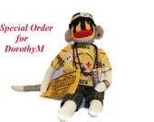 Sock Monkey Special Order Steelers Fan