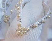 Flat bling wedding shoes, Wedding flip flops, bridal flip flops, beach wedding sandals, bridal sandals, white flip flops