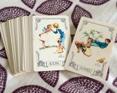 Vintage Norman Rockwell Spring Playing Cards