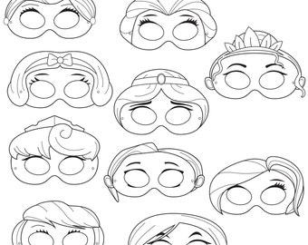 Printable Mask For Girls Robots printable coloring masks robot mask by ...