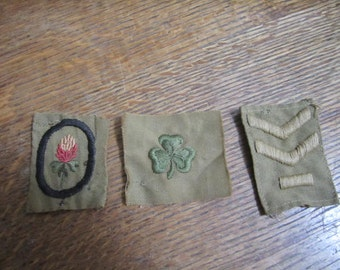 Girl Scout Patches / Badges. Collectible Girl Scout Memorabilia. Merit badges.