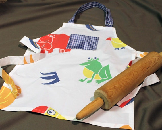 Kids Jungle Animal Apron