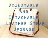 Adjustable Detachable Leather Strap Upgrade