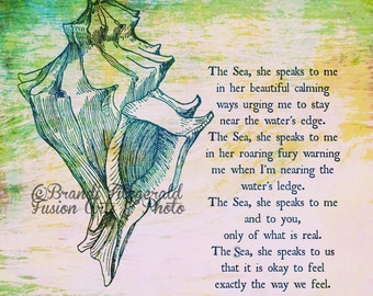 Seashell Poems And Quotes QuotesGram