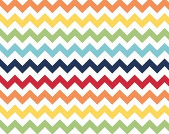 SMALL Rainbow Chevron From Riley Blake