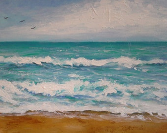 Windy Day at the Beach  50% off sale on this item until Dec 25th