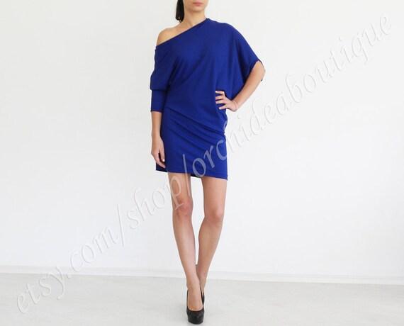 ZINA Asymmetric Long Sleeve Top Shoulder Cut Out Detail Tunic Off-shoulder Asymmetric top tunic blouse dress long sleeves plus size