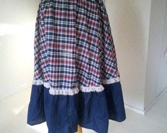 Prairie style vintage skirt