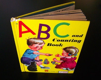 Vintage Children's Book - ABC and Counting Book - 1946