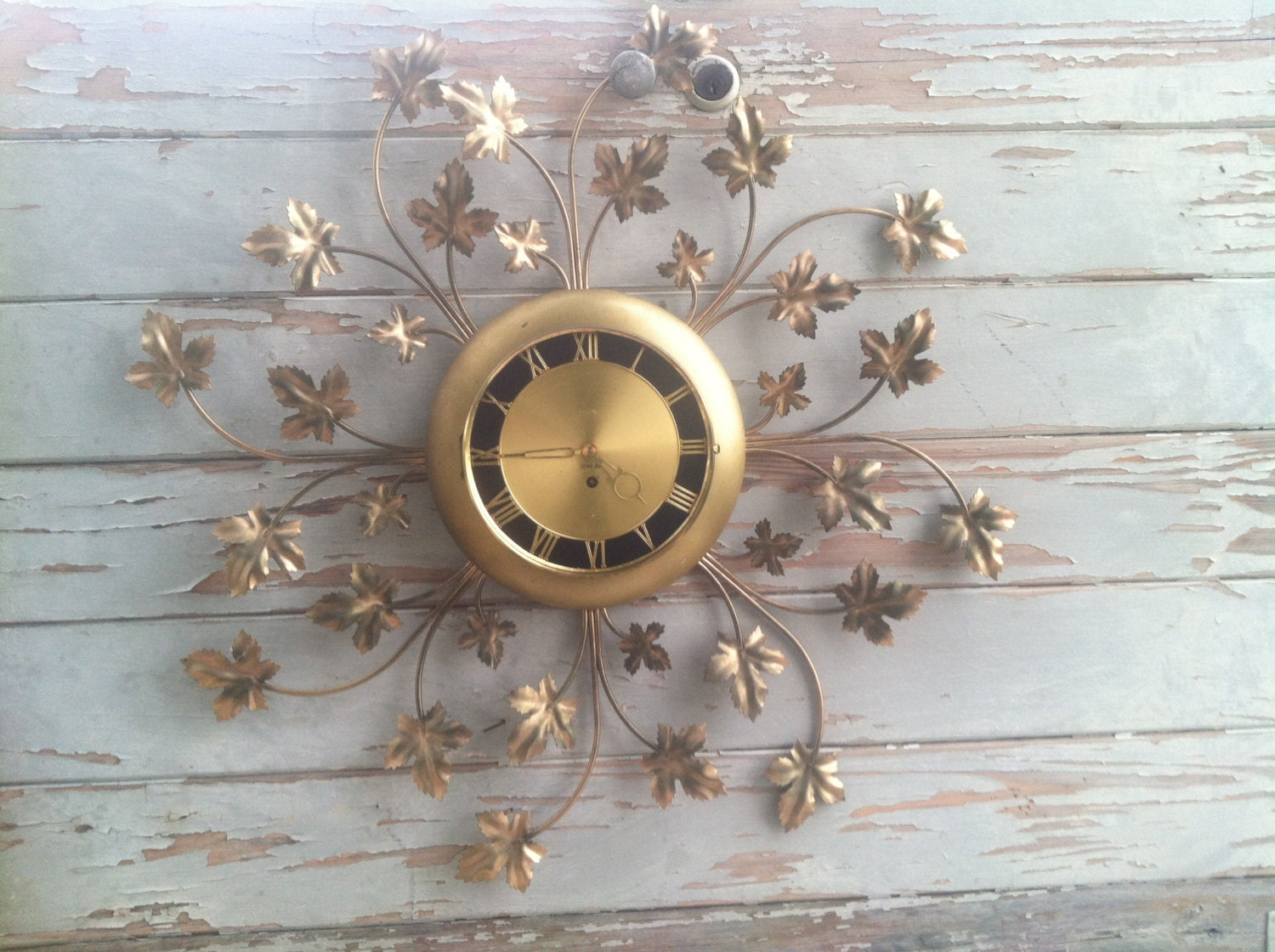 Wind Up Eight Day Wall Clock Vintage Clocks By