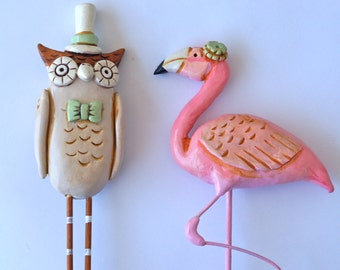 Mix and Match Animal Cake Toppers for your Rustic Wedding
