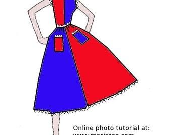PDF pattern Fancy Free reproduction