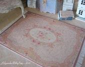 M Victorian Fringed Dollhouse Rug-