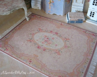M Victorian Fringed Dollhouse Rug-