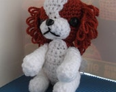 cavalier king charles spaniel crochet amigurumi dog