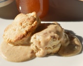 Southern Country Onion Gravy, 2 for 1 recipe