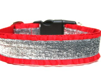 """Holiday Dog Collar 1.5"""" Christmas Dog Collar"""