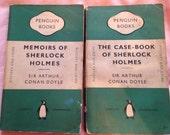 Vintage Sherlock Holmes Novels