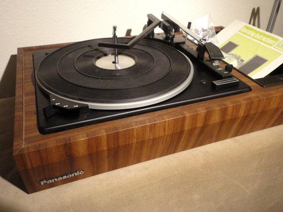 Sale Vintage Panasonic Turntable Record Player Dust