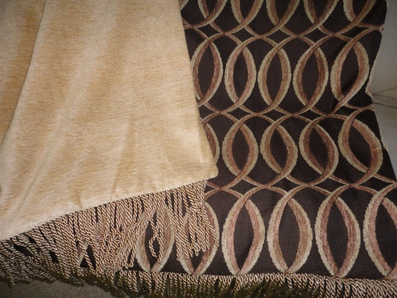 Luxurious Designer Throw Blanket One Of A Kind By Alexsattic