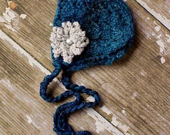 Midnight Blue Bonnet