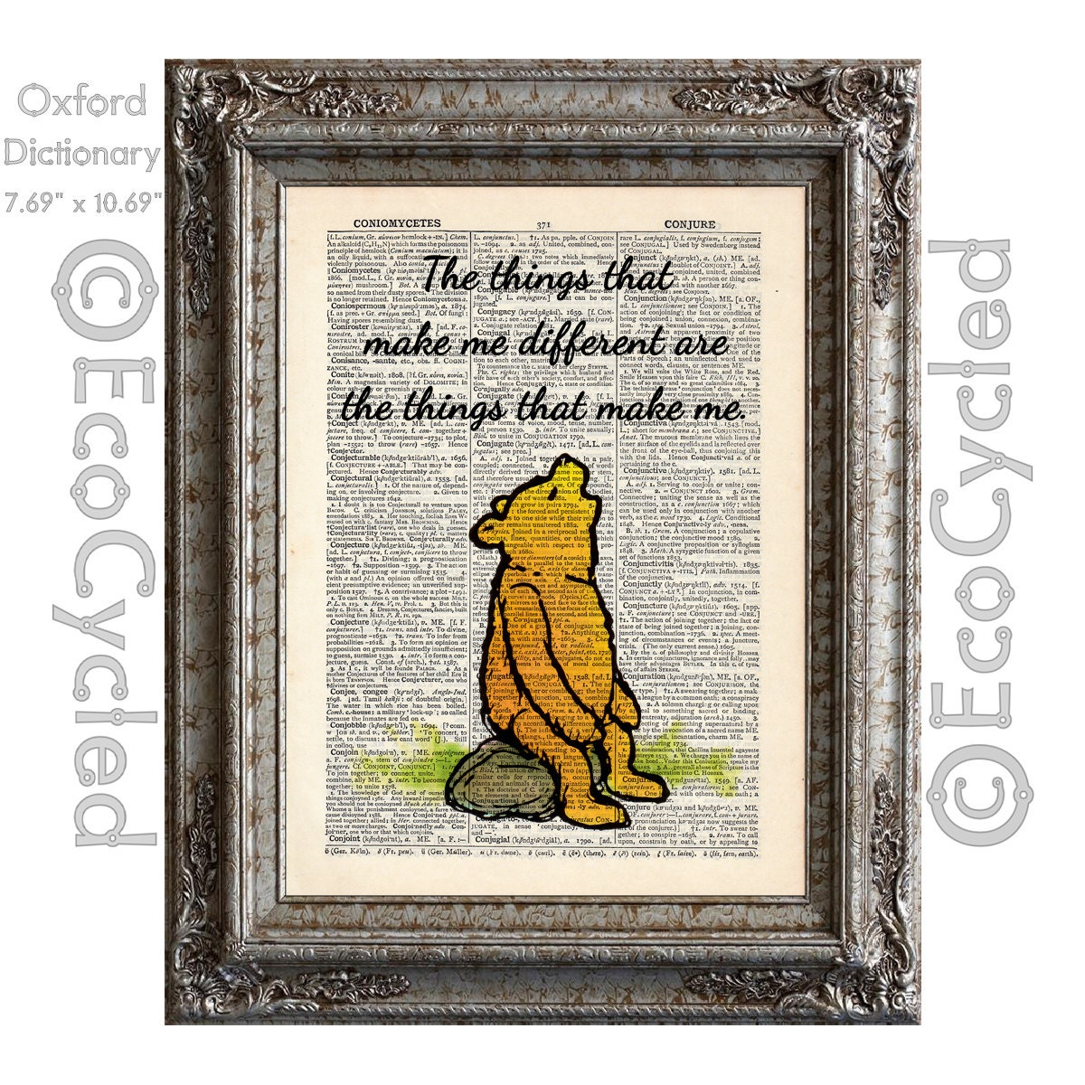Winnie The Pooh Quote 15 Things That Make Me Different Make Me