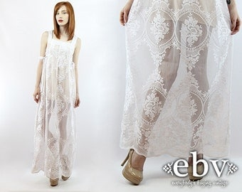 Hippie Style Casual Wedding Dresses Maxi Dress Hippie Wedding