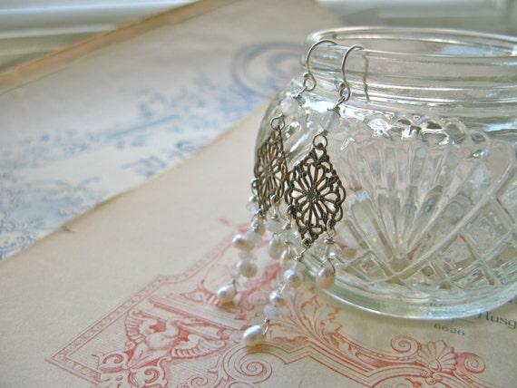 Pearl Chandelier Diamond ...