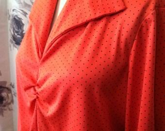 Mod 1970 blouse large