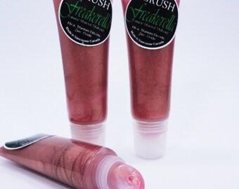 Freakarella  Lip Gloss Vegan pink translucent l Mineral Makeup Lip Stick make up shiny glitter
