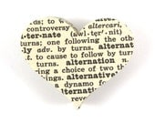 "1.8"" Book Heart Die Cuts set of 100"