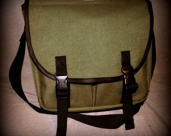 Messenger side bag mail man style waterproof CORDURA custom colors
