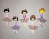 Ballerina hair clip