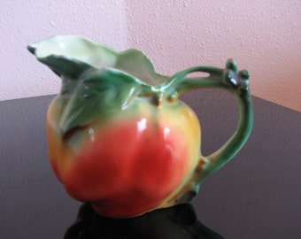 Royal Bayreuth Apple Creamer - Pitcher