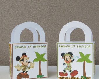 Mickey & Minnie Mouse Favor/Treat/Gift Bags 3x3 (Set of 12)