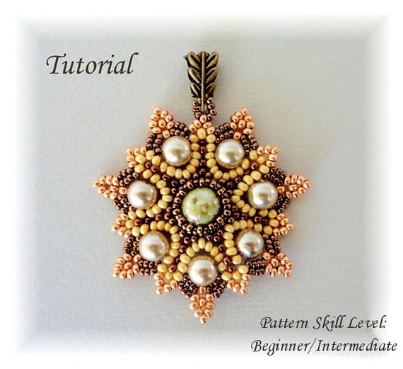 etsy seed bead crafts for beginners