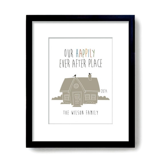 Items similar to personalized housewarming gift unique Best housewarming gifts for couples