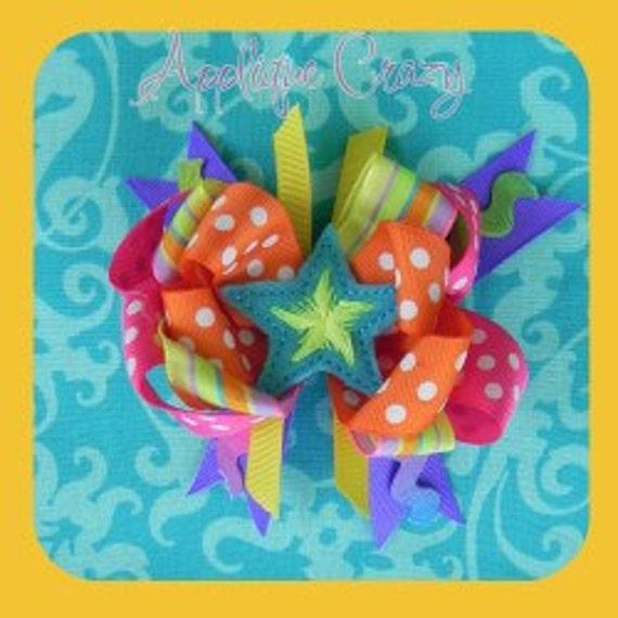 Star feltie Embroidery design