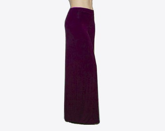 Palazzo Wide Leg Pants - Eco Friendly Hand Dyed Organic Cotton/Bamboo Jersey - Custom Size and Color - Made to Order - XXS thru Large