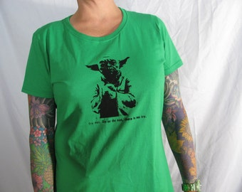 LADIES YODA tshirt  choose from six different colors