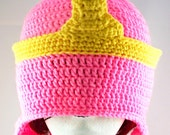 Pink Princess - Princess Bubblegum Adventure Time Inspired Crochet Hat