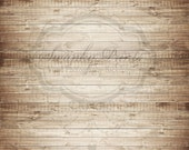 10ft x 10ft Vinyl Photography Backdrop - Brown Washed Wood / Custom Photo Prop