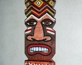 TIKi Mask wooden wall decor