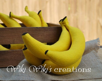 Felt Play Food Plush Banana
