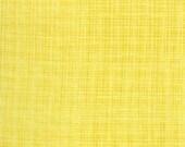 Yellow Fabric, BlueBird Park by Moda, Sunrise Fabric, Floral Fabric, Yellow Weave Fabric, 02171