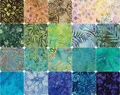 "Pre-Cut Batiks - #103 (5"" Square Charm Pack)"